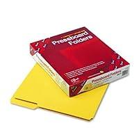 厚紙ファイルフォルダ、トップタブ、文字、1/ 3カット、イエロー、25/ボックス( smd21562)