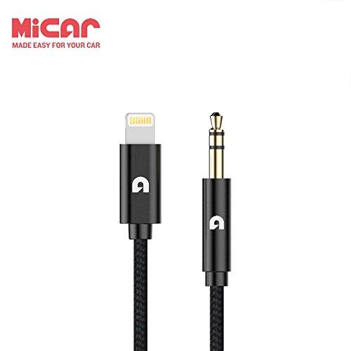 MiCar M1 オーディオケーブル ライトニングケーブル ライトニングコネ...