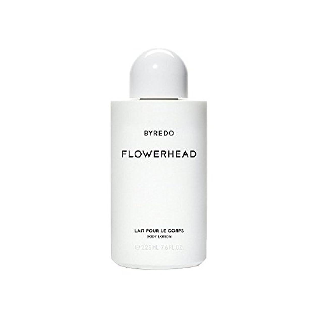 最愛の労働圧力ボディローション225ミリリットル x4 - Byredo Flowerhead Body Lotion 225ml (Pack of 4) [並行輸入品]