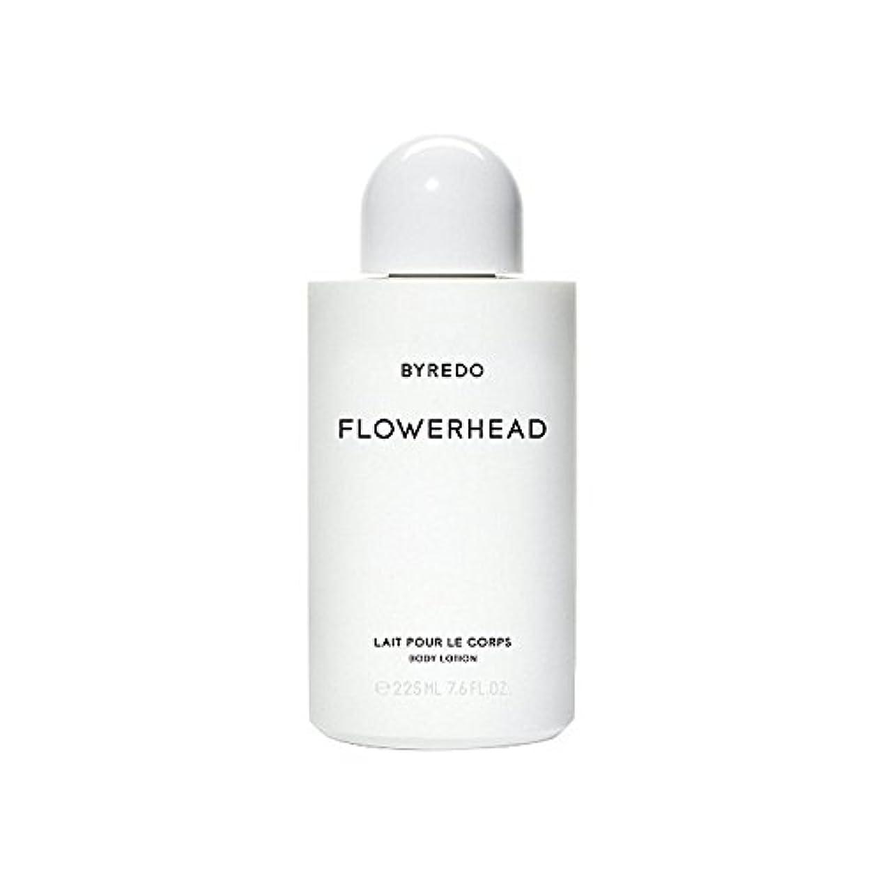アクションカルシウム資料ボディローション225ミリリットル x4 - Byredo Flowerhead Body Lotion 225ml (Pack of 4) [並行輸入品]