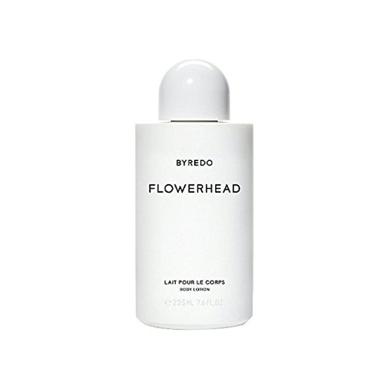 ジェット汚染名前を作るボディローション225ミリリットル x4 - Byredo Flowerhead Body Lotion 225ml (Pack of 4) [並行輸入品]