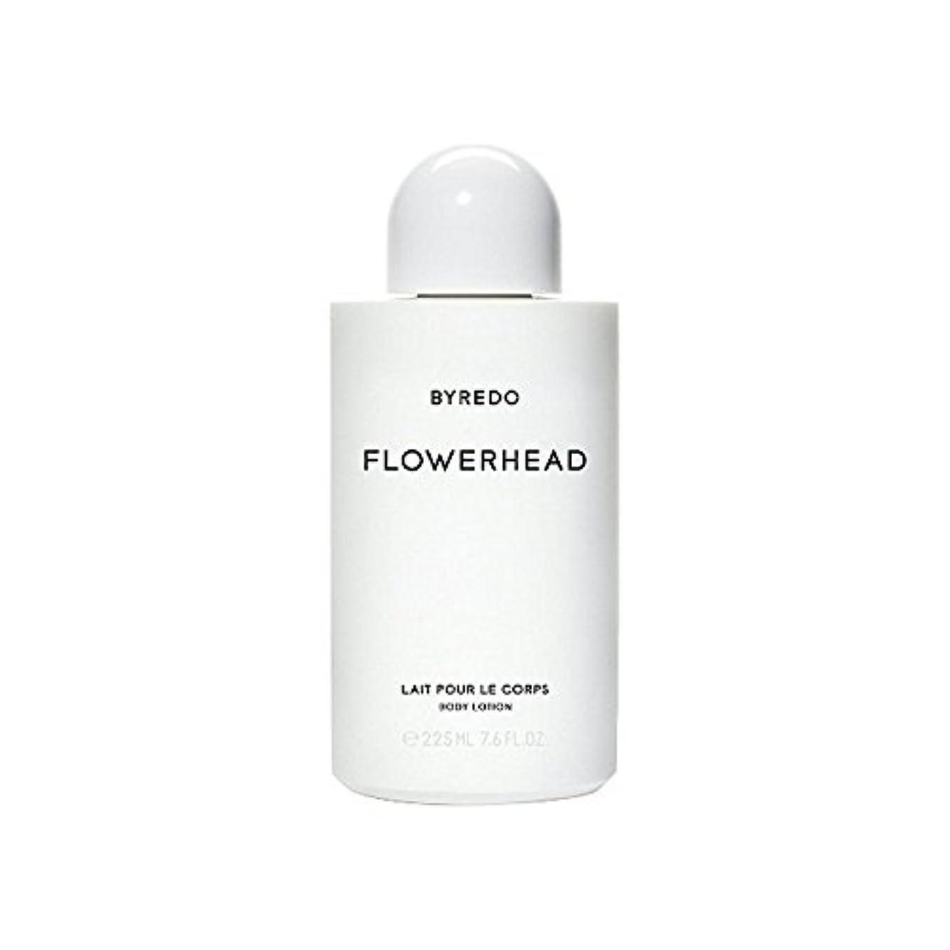 タブレット奇跡かすれたボディローション225ミリリットル x4 - Byredo Flowerhead Body Lotion 225ml (Pack of 4) [並行輸入品]