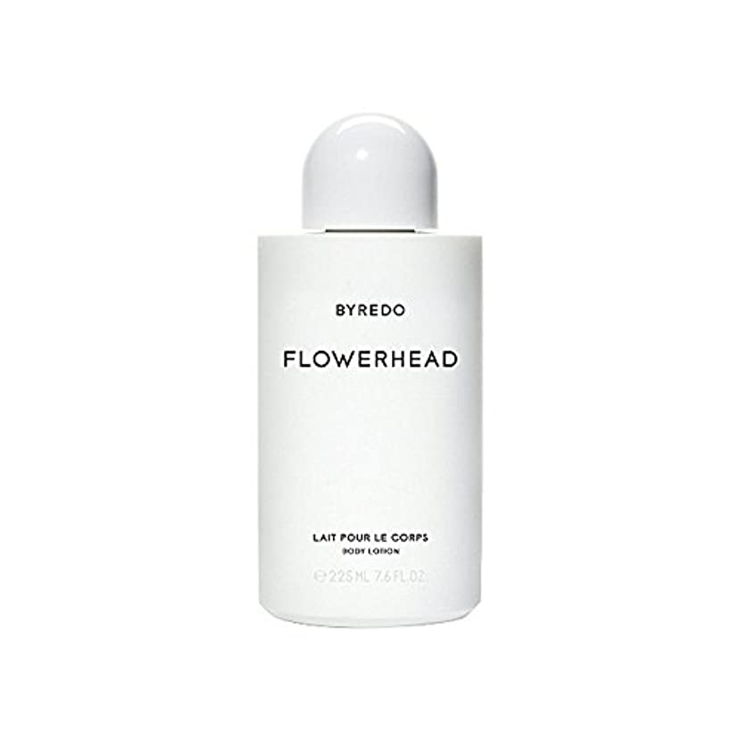 用心飾る亜熱帯ボディローション225ミリリットル x4 - Byredo Flowerhead Body Lotion 225ml (Pack of 4) [並行輸入品]
