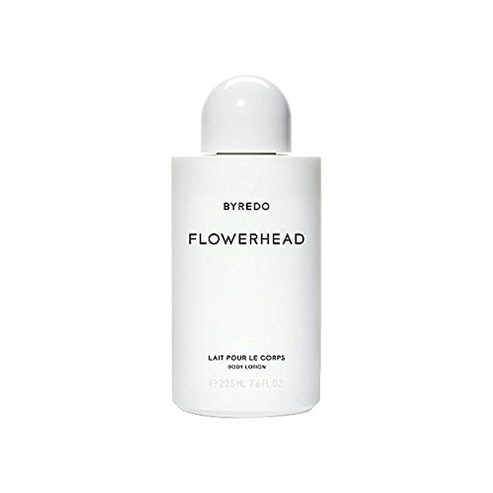 右ハンバーガーメタルラインボディローション225ミリリットル x4 - Byredo Flowerhead Body Lotion 225ml (Pack of 4) [並行輸入品]