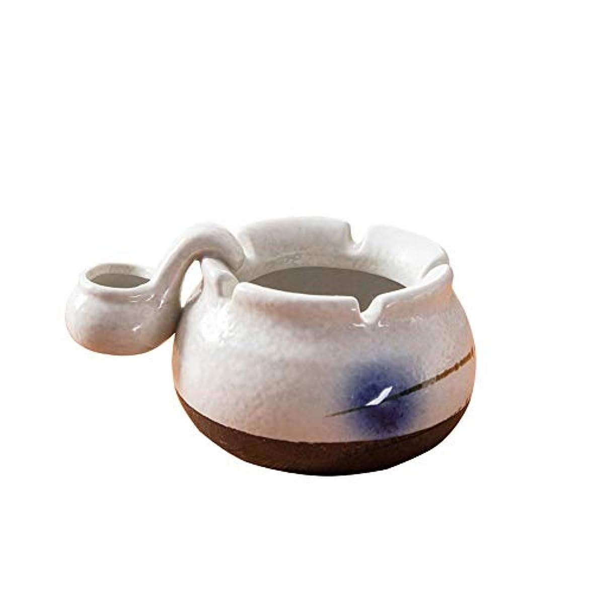 深いコークスビン屋内または屋外での使用、喫煙者用の灰ホルダー、ホームオフィスの装飾用のデスクトップ喫煙灰皿
