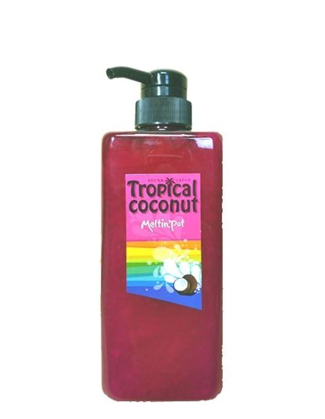 茎蓋機知に富んだトロピカルココナッツ シャンプー 600ml  Tropical coconut shampoo