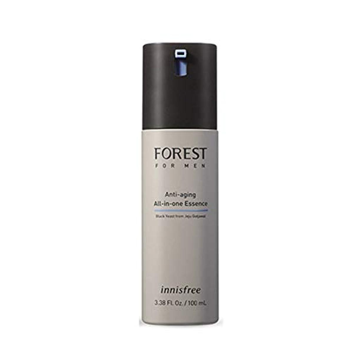 テレビ局深遠キャプテンイニスフリーフォレストフォーメンオールインワンエッセンス100ml 4タイプメンズコスメ韓国コスメ、innisfree Forest for Men All-in-one Essence 100ml 4 Types Korean Cosmetics [並行輸入品] (No.4 Anti-aging Care)