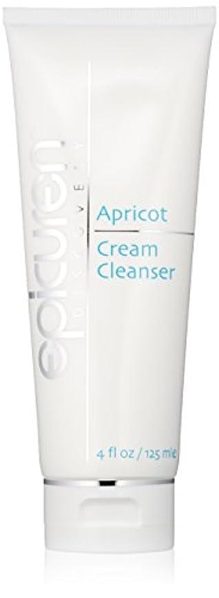 歯車毎日リンケージEpicuren Apricot Cream Cleanser - For Dry & Normal Skin Types 125ml/4oz並行輸入品