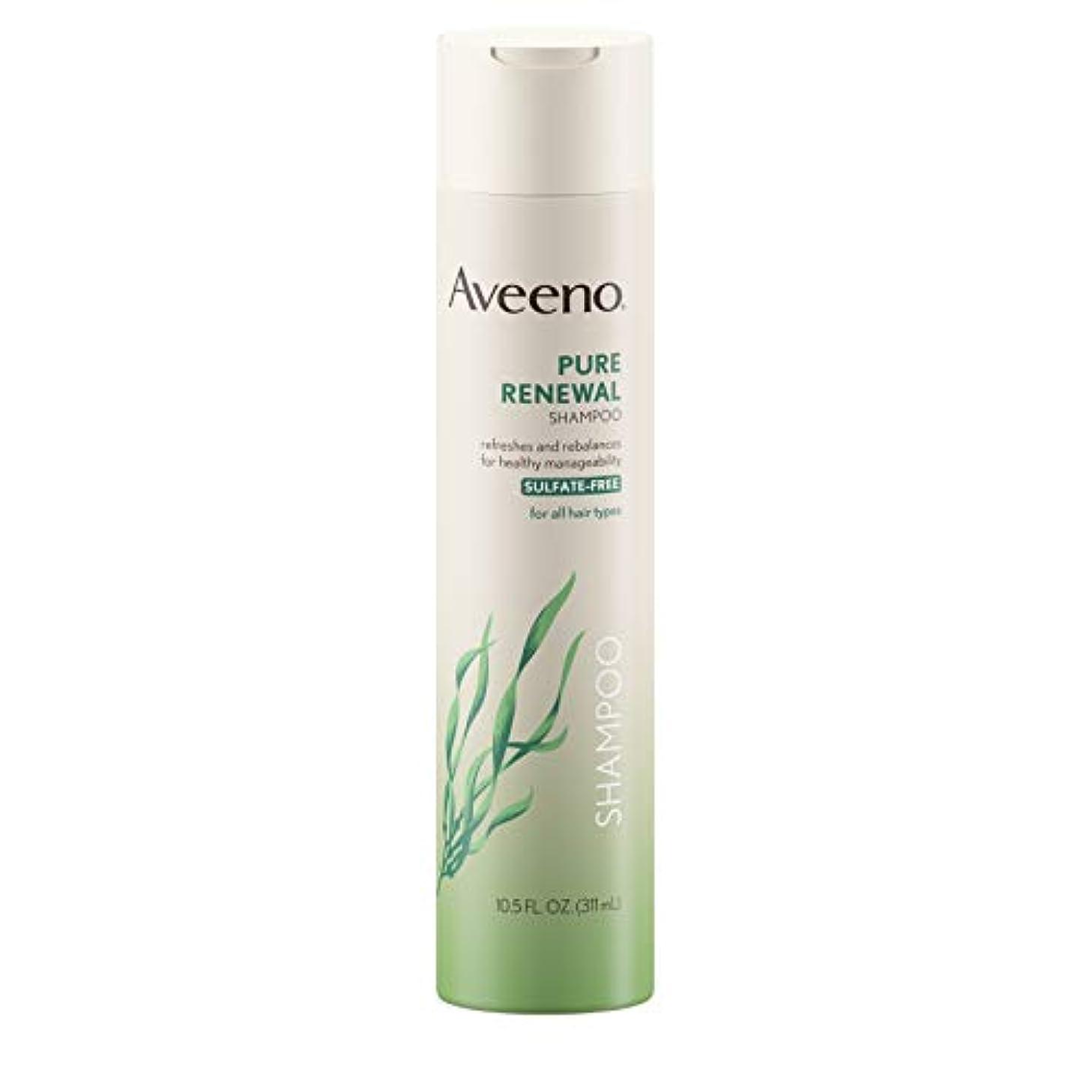 キウイ拾う植木Aveeno Pure Renewal Shampoo 310 ml (Sulfate-Free)