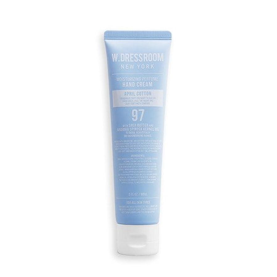 ファイナンスエンジニアリング黙認するW.DRESSROOM Moisturizing Perfume Hand Cream 60ml/ダブルドレスルーム モイスチャライジング パフューム ハンドクリーム 60ml (#No.97 April Cotton) [並行輸入品]