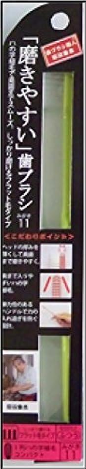 願望興味陸軍磨きやすい歯ブラシ ふつう (ハの字フラット)