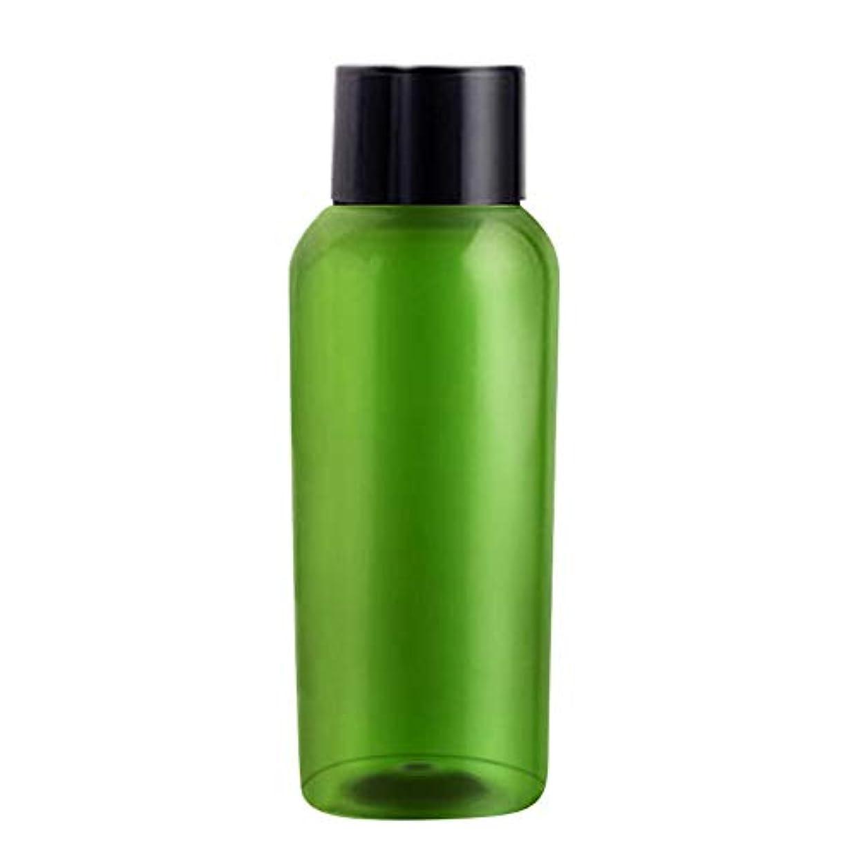 流出まっすぐにするうめき50ML分けボトル 詰替ボトル 化粧品ボトル 遮光瓶 出張?海外旅行用 収納 携帯便利 4本セット シャンプー?エマルジョン?化粧水ボトル シリコン製