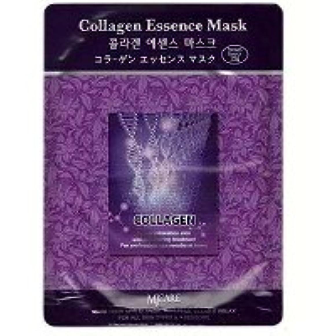 閉塞採用する深さMIJIN MJ-CARE コラーゲン エッセンスマスク 23g 1枚入り
