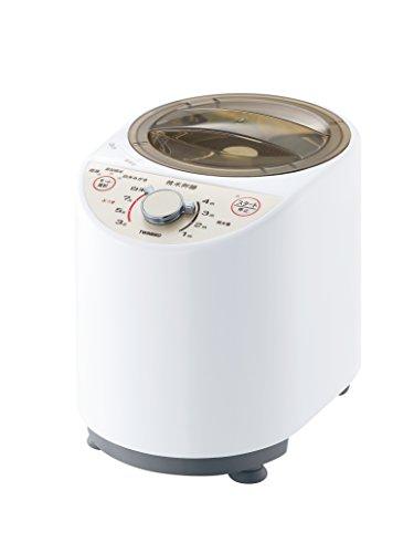 ツインバード コンパクト精米器 ホワイト MR-E500W...