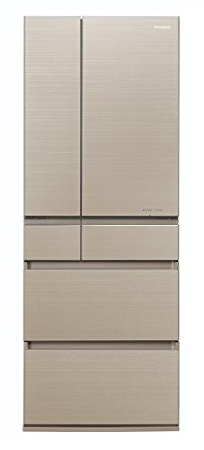パナソニック 冷蔵庫 6ドア 550L パーシャル搭載 マチュアゴールド NR-F554HPX-N