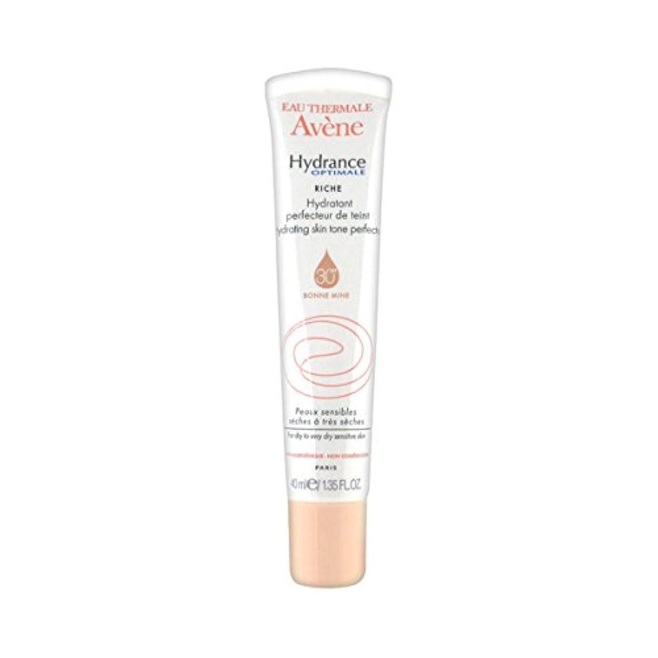 剛性栄光受け取るAvene Hydrance Optimale Rich Hydrating Skin Tone Perfector 40ml [並行輸入品]
