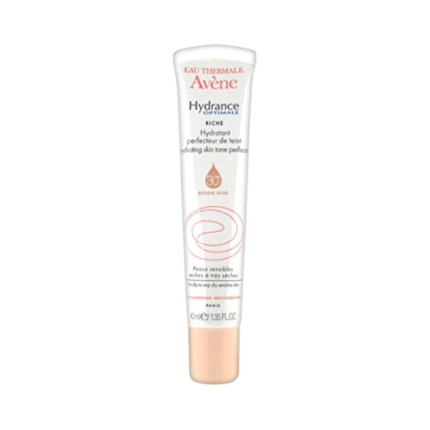 ブレスケープ独立Avene Hydrance Optimale Rich Hydrating Skin Tone Perfector 40ml [並行輸入品]