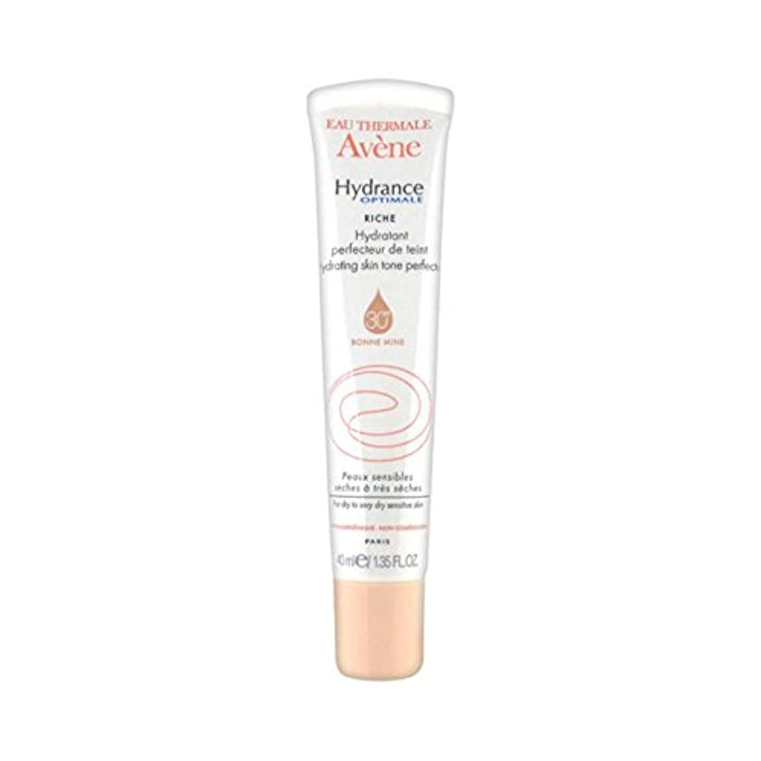 タイマー簡単な農民Avene Hydrance Optimale Rich Hydrating Skin Tone Perfector 40ml [並行輸入品]