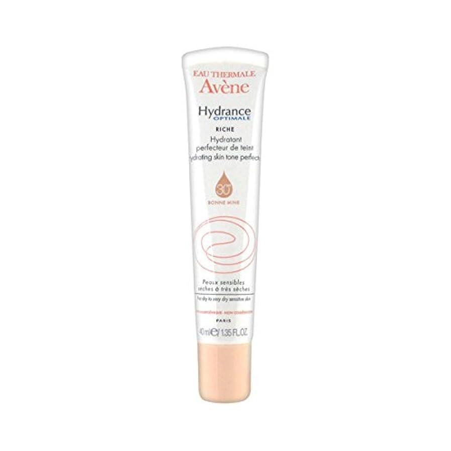 決して本物勃起Avene Hydrance Optimale Rich Hydrating Skin Tone Perfector 40ml [並行輸入品]