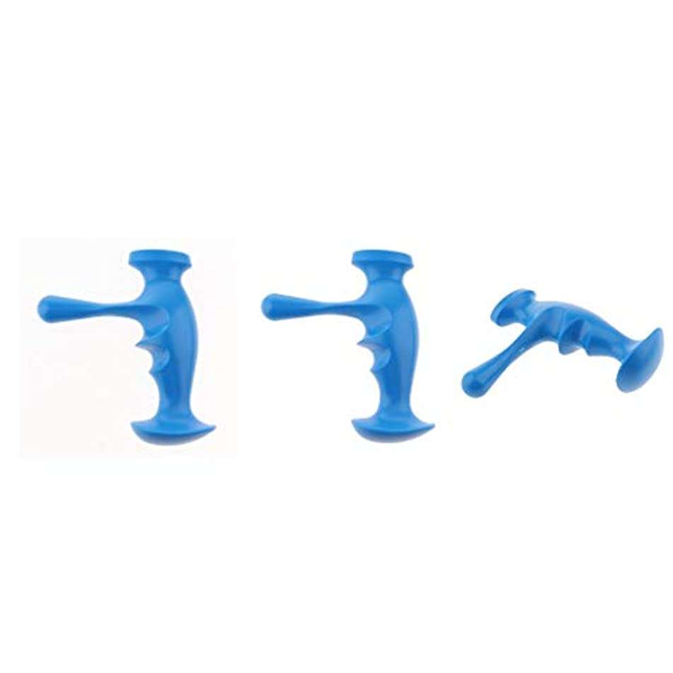 チェリー音節評価可能dailymall マッサージスティック ボディマッサージャー マッサージ器 トリガーポイント 疲労回復 3個入