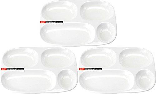 ウォーム ホワイト Warm White ヴッフェ ランチプレート 3枚セット 79702