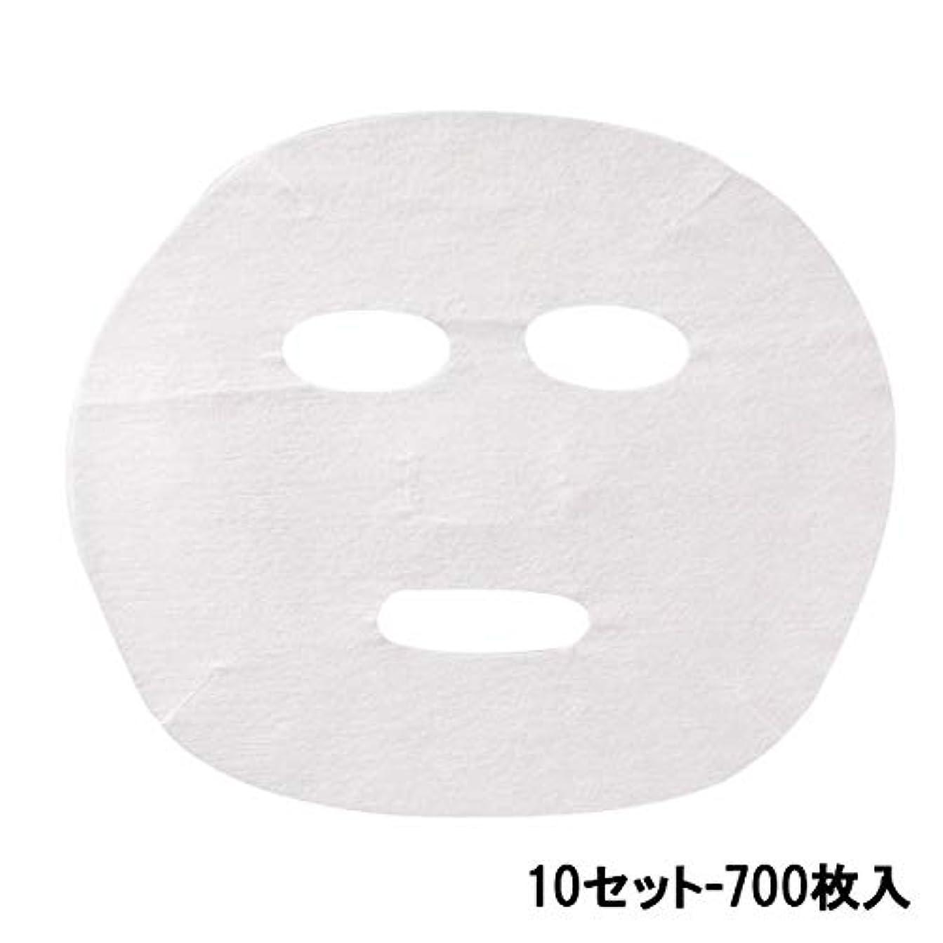 センブランス寂しい比類なきフェイシャルシート (薄手タイプ) 70枚入 22.5×18.5cm (10セット-700枚入) [ フェイスマスク フェイスシート フェイスパック フェイシャルマスク フェイシャルパック ローションマスク ローションパック...