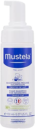 Mustela Foam Shampoo For Newborns 150ml, 150 ml
