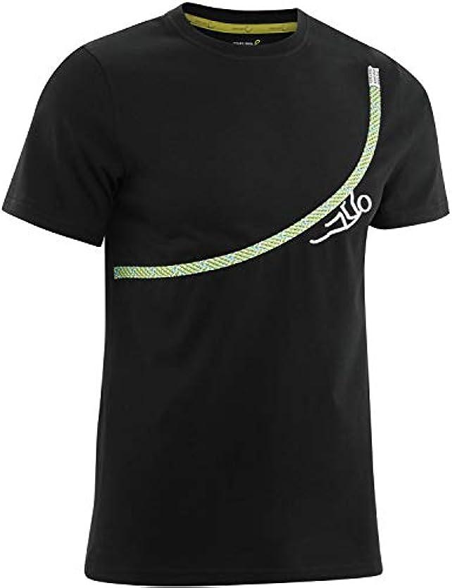 簡略化する剥離名門EDELRID(エーデルリッド) メンズ 登山 クライミング ボルダリング Tシャツ ロープT 【 日本正規品 】