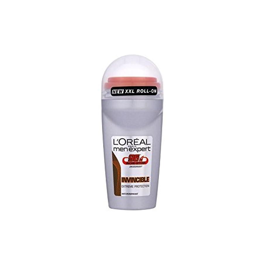 識別ボーダーストローロレアルパリのメンズ専門家の消臭50ミリリットル無敵の96時間 x4 - L'Oreal Paris Men Expert Deodorant 50ml Invincible 96 Hours (Pack of 4) [...