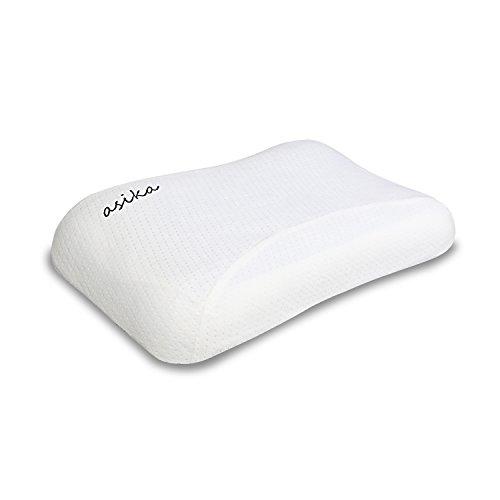 健康枕 ASIKA 人間工学設計快眠枕 無臭柔らかい 頸椎サポートストレス解消 低反発まくら