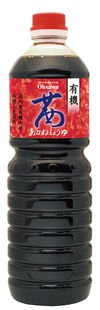 オーサワジャパン 有機茜醤油 1L 4個セット