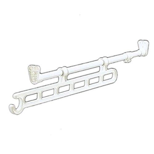 RoomClip商品情報 - アイリスオーヤマ ハンガー スライド 押入れ 奥行65~110cm ホワイト RH-65