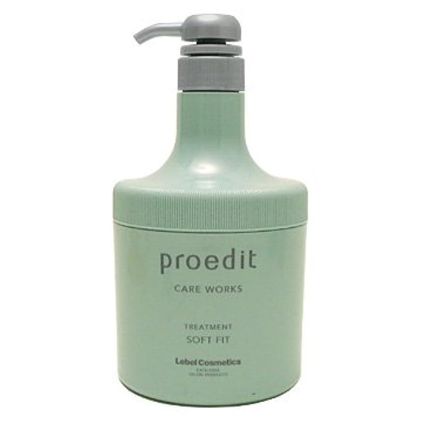 許可する施設美容師プロエディット ケアワークス ヘアトリートメント ソフトフィット(600ml)