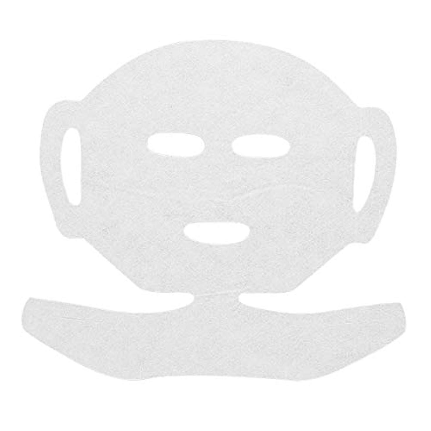 高保水 フェイシャルシート (マスクタイプネック付き 化粧水無し) 80枚 29×20cm [ フェイスマスク フェイスシート フェイスパック フェイシャルマスク シートマスク フェイシャルシート フェイシャルパック ローションマスク...