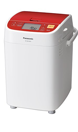 パナソニック ホームベーカリー 1斤タイプ レッド SD-BH1001-R...