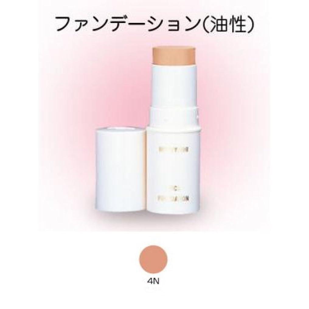 高層ビル偏心ランタンスティックファンデーション 16g 4N 【三善】