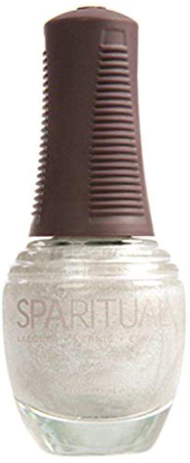 塩辛い終点服を片付けるSpaRitual スパリチュアル ネイルラッカー リキッドメタル15ml #80357