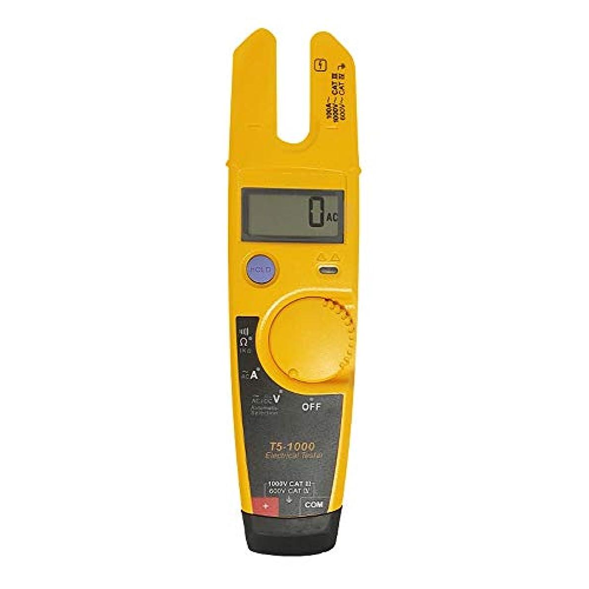 唯一狂気お勧めTDHHY Labloot ソフトケース付き T5-600 クランプメーター 電圧 連続電流 クランプメーター