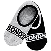 Bonds Women's Cotton Blend Sneaker Socks (2 Pack)