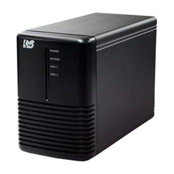 ラトックシステム USB3.0/2.0 RAIDケース(HDD2台用) RS-EC32-U3R