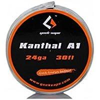 《爆煙》GEEK VAPE Kanthal A1 24ga 30ft 電子タバコ ビルド ワイヤー