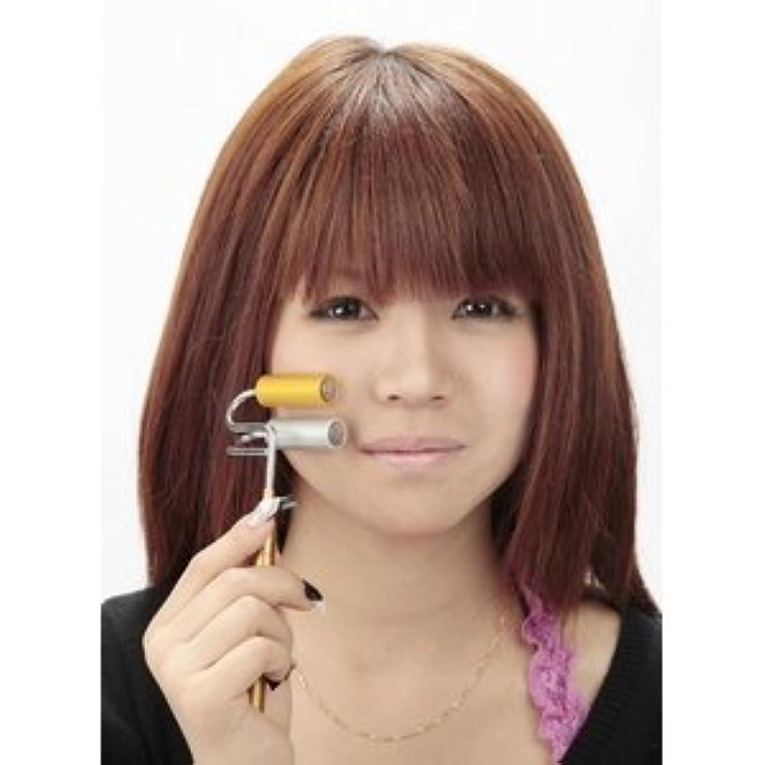 中スノーケルラップトップ純金&純銀ゲルマ磁気ローラ ds-120454