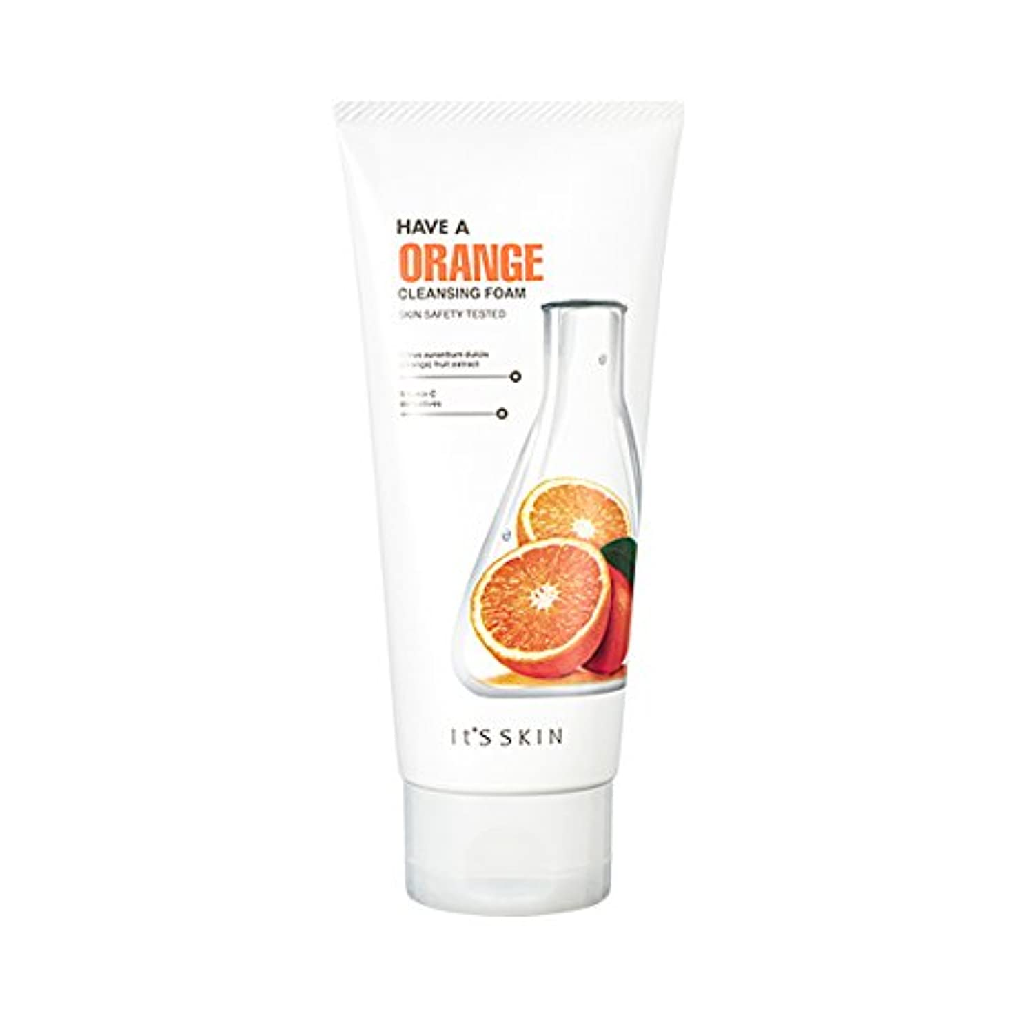 一貫性のない着服移住するIts skin Have a Orang Cleansing Foam/イッツスキン ハブア オレンジクレンジングフォーム [並行輸入品]