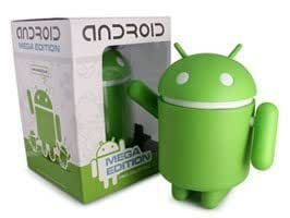 Android Robot フィギュア MEGA Edition Vinyl collectible