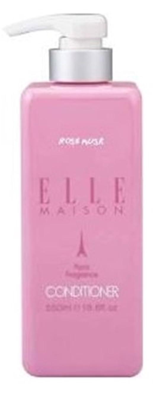 信頼性のある配置美しい熊野油脂 ELLE MAISON ノンシリコンコンディショナー 本体 550ml