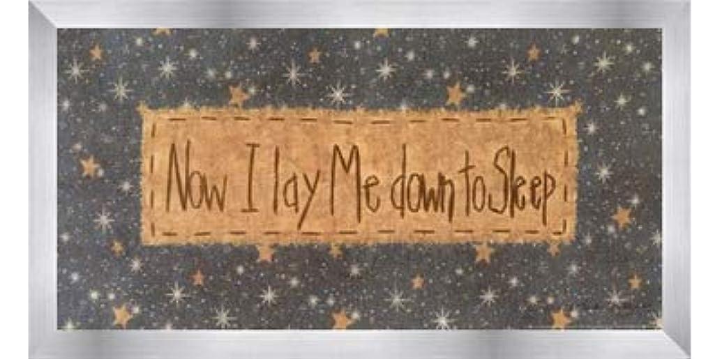 ためらう産地ハードNow I Lay Me Down to Sleep by Vicki Huffman – 16 x 8インチ – アートプリントポスター LE_479949-F9935-16x8
