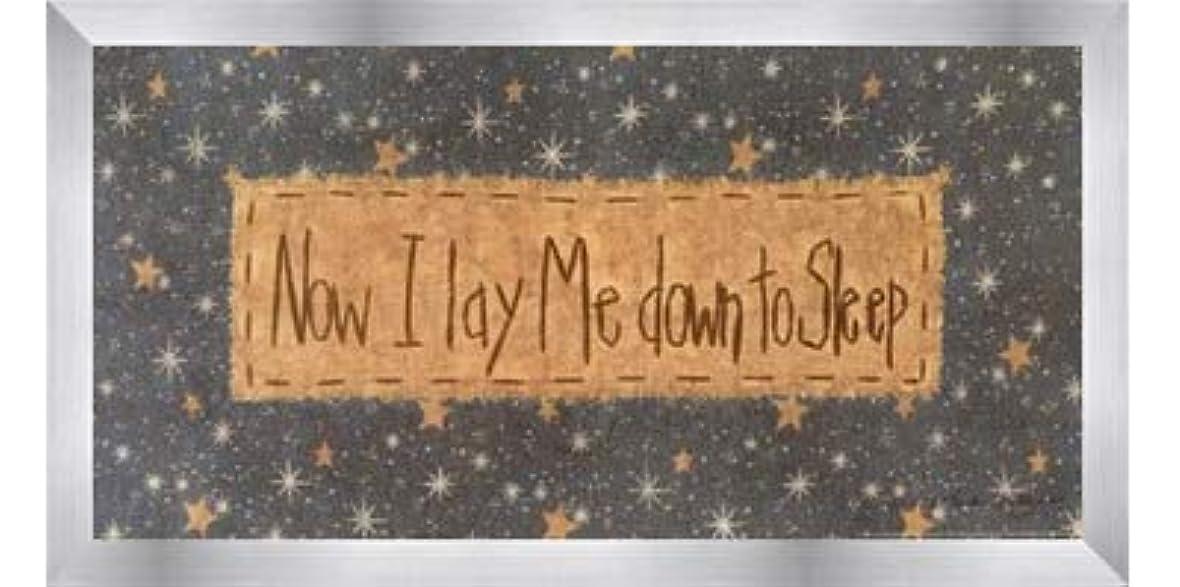 未払い期待して噛むNow I Lay Me Down to Sleep by Vicki Huffman – 16 x 8インチ – アートプリントポスター LE_479949-F9935-16x8