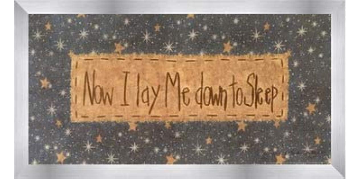 資産許される本を読むNow I Lay Me Down to Sleep by Vicki Huffman – 16 x 8インチ – アートプリントポスター LE_479949-F9935-16x8