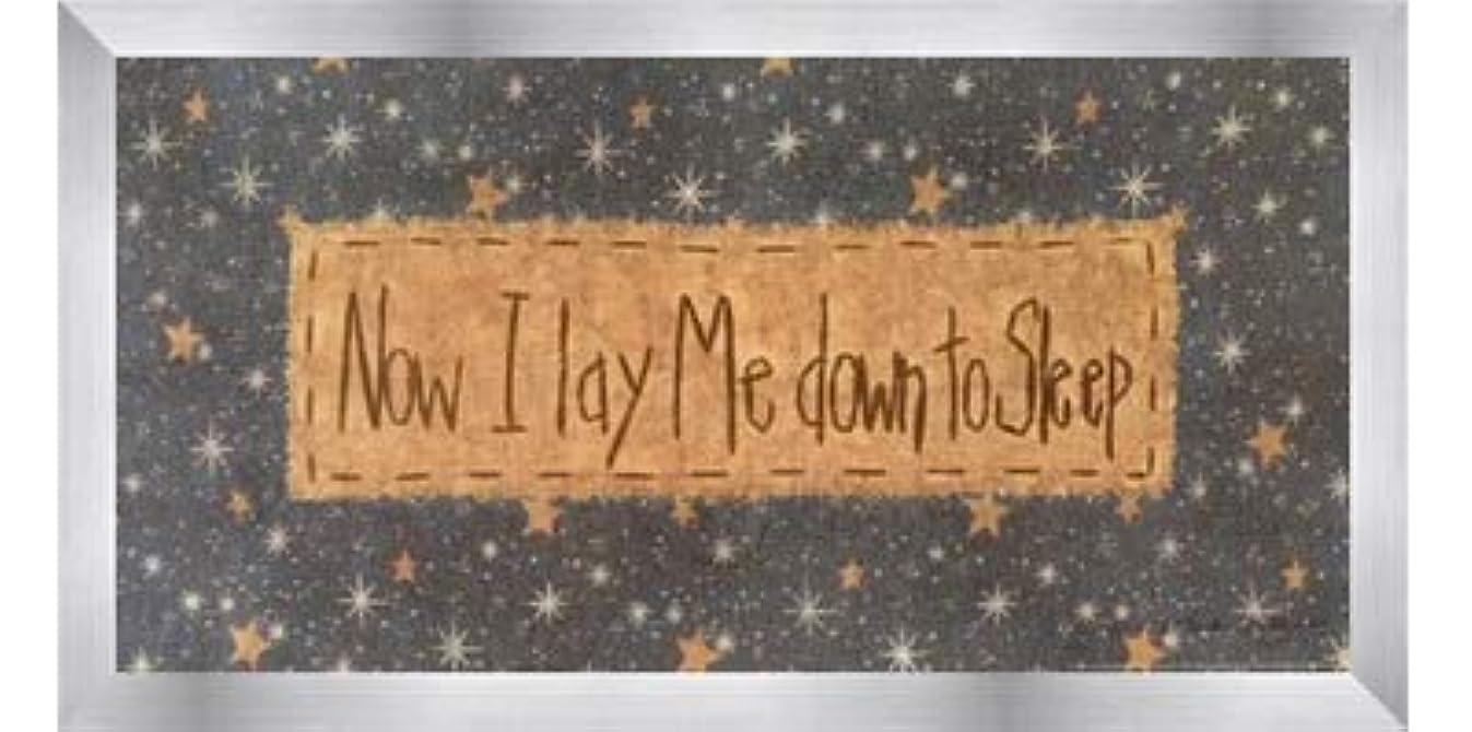 こどもセンターカビ嵐が丘Now I Lay Me Down to Sleep by Vicki Huffman – 16 x 8インチ – アートプリントポスター LE_479949-F9935-16x8