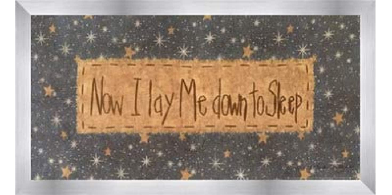 内なる債務重大Now I Lay Me Down to Sleep by Vicki Huffman – 16 x 8インチ – アートプリントポスター LE_479949-F9935-16x8